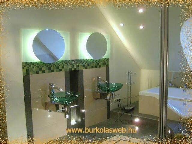 fürdőszoba üveg mosdó