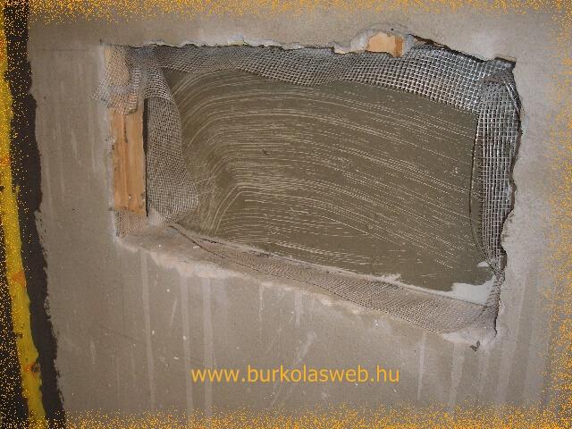 hátsó fal készítés gipszkartonból