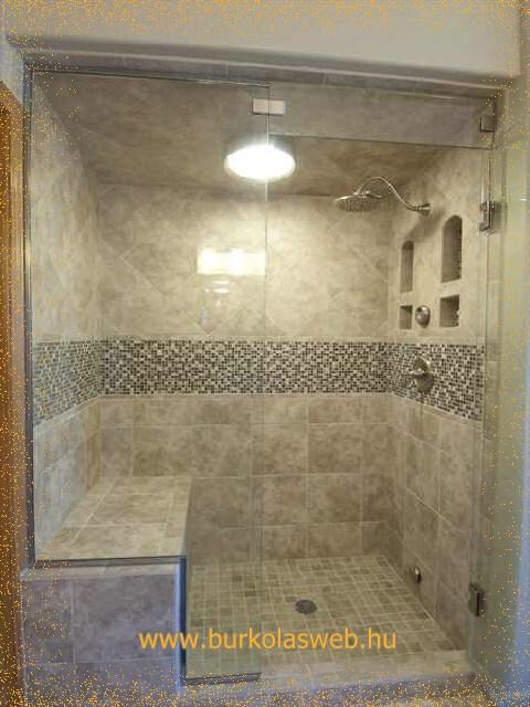 épített zuhanyzó polc