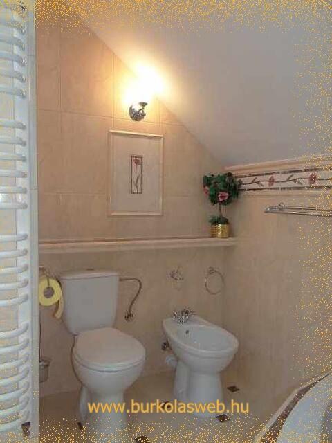 wc a fürdőszobában