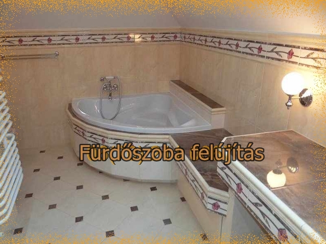 fürdőszoba burkolás