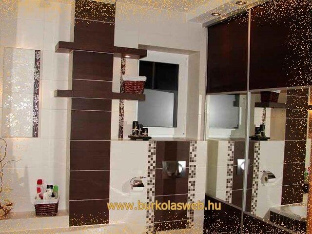 csövek eltakarása fürdőszobában