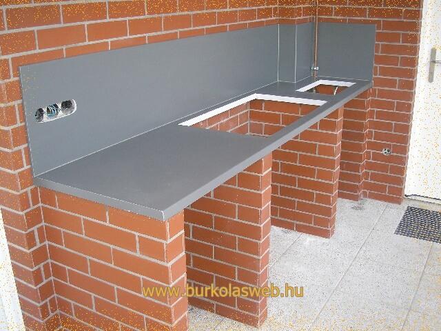 külső térben épített bútor