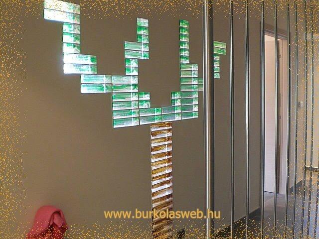 egyedi üvegtégla falak készítése