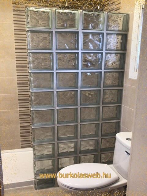 térelzáró üvegtégla falak készítése