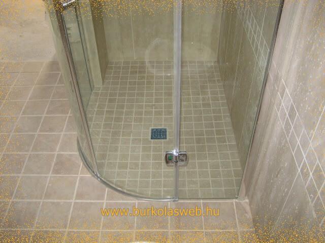 Épített zuhanyzó, zuhanyzó építés