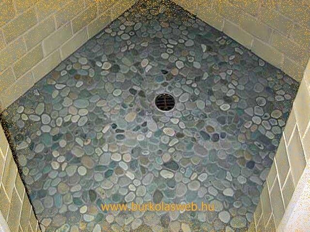 zuhany kő burkoló munkák